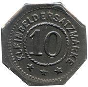 10 Pfennig - Bad Bertrich – reverse