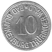 10 Pfennig - Bad Blankenburg – obverse