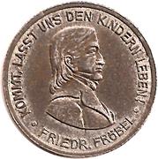 50 Pfennig - Bad Blankenburg – reverse