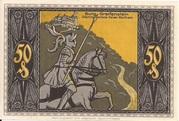 50 Pfennig (Günther von Schwarzburg Series) – reverse
