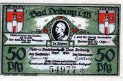 50 Pfennig (Spar- und Darlehnskasse) – obverse
