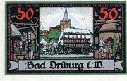 50 Pfennig (Spar- und Darlehnskasse) – reverse