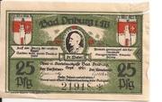 25 Pfennig (Spar- und Darlehnskasse) – obverse