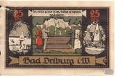 25 Pfennig (Spar- und Darlehnskasse) – reverse