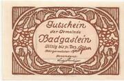 30 Heller (Bad Gastein) – reverse