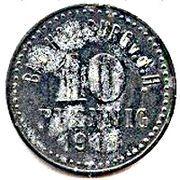 10 Pfennig - Bad Homburg vor der Höhe – obverse
