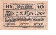 10 Heller (Bad Ischl) -  obverse