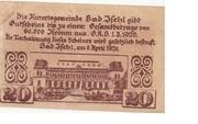 20 Heller (Bad Ischl) -  reverse