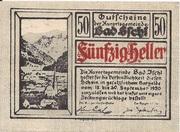 50 Heller (Bad Ischl) -  obverse