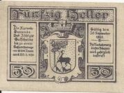 50 Heller (Bad Ischl) -  reverse