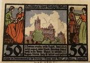 50 Pfennig (Rudelsburg) – obverse