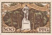 300 Pfennig – reverse