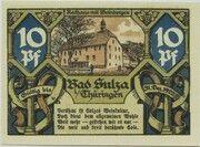 10 Pfennig (Spa Series - Issue A) – reverse