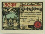 50 Pfennig (Spa Series - Issue C) – obverse
