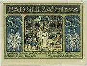 50 Pfennig (Spa Series - Issue C) – reverse
