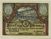 50 Pfennig (Spa Series - Issue D) – obverse