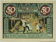 50 Pfennig (Spa Series - Issue D) – reverse