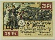 75 Pfennig (Spa Series - Issue E) – obverse