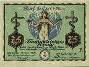 75 Pfennig (Spa Series - Issue F) – obverse