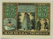 75 Pfennig (Spa Series - Issue F) – reverse