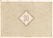 20 Mark – reverse