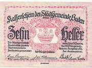 10 Heller (Baden) -  obverse
