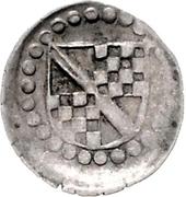 1 Pfennig - Christoph I (Schüsselpfennig) – obverse