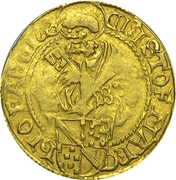 1 Goldgulden - Christoph I. – obverse