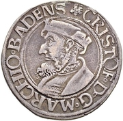 1 Dicken - Christoph I. – obverse