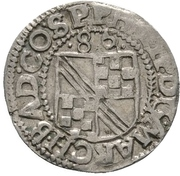 ½ Batzen - Philipp II. – obverse