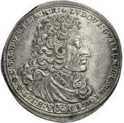 60 Kreuzer - Ludwig Wilhelm (Guldentaler) – obverse