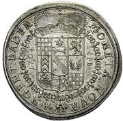 60 Kreuzer - Ludwig Wilhelm (Guldentaler) – reverse