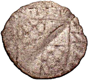 1 Pfennig - Eduard Fortunat (Schüsselpfennig) – reverse