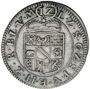 12 Kreuzer - Friedrich Magnus VII. – reverse