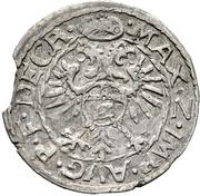 ½ Batzen - Karl II – reverse