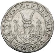 12 Kreuzer - Friedrich VII. Magnus – obverse