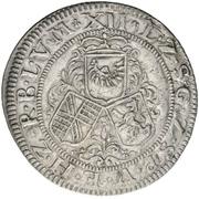 12 Kreuzer - Friedrich VII. Magnus – reverse