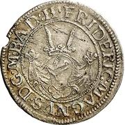 2 Kreuzer - Friedrich VII. Magnus – obverse
