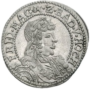 6 Kreuzer - Friedrich VII Magnus – obverse