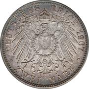 2 Mark - Friedrich I (Death of Friedrich I) – reverse
