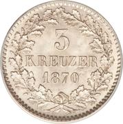 3 Kreuzer - Friedrich I. – reverse