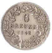 6 Kreuzer - Leopold – reverse