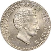 10 Kreuzer - Ludwig I – obverse
