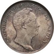 ½ Gulden - Leopold I. – obverse