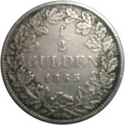 ½ Gulden - Friedrich I. – reverse