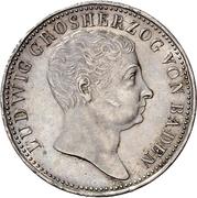 1 Gulden - Ludwig I – obverse