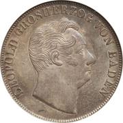 1 Gulden - Leopold I – obverse
