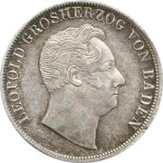 1 Gulden - Leopold I. (Ausbeute-Gulden) – obverse
