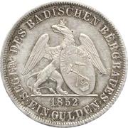 1 Gulden - Leopold I. (Ausbeute-Gulden) – reverse