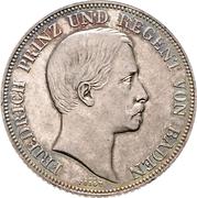 1 Gulden - Friedrich I – obverse